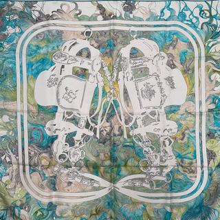 Hermes - HERMES エルメス カレ 90 スカーフ BRIDES de GALA