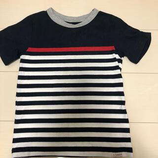 ニシマツヤ(西松屋)のボーダーTシャツ 120(Tシャツ/カットソー)