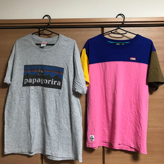 CHUMS - CHUMS Tシャツ  キャップ付き