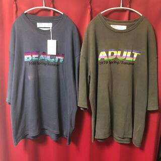 sacai - dairiku 刺繍 tシャツ 2点セット