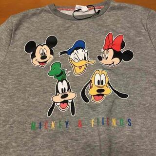 ディズニー(Disney)のディズニー Disney スウェット トレーナー ビッグプリント L(スウェット)