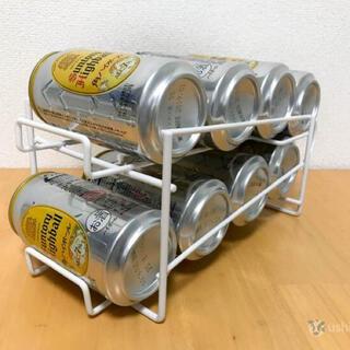 コロコロ缶ラック 8本収納 350mm  2個セット‼️