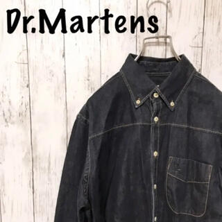 Dr.Martens - 【レア】ドクターマーチン ポルトガル製 刺繍ロゴ デニムシャツ 長袖 メンズ