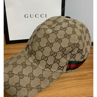 グッチ(Gucci)の【美品】GUCCI キャップ(キャップ)