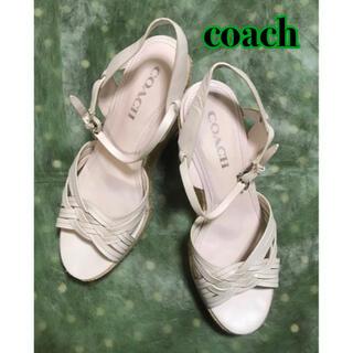 COACH - COACH コーチ /ウェッジソール サンダル