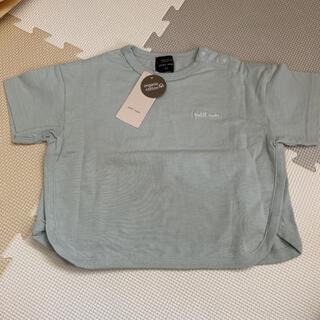 petit main - 新品タグつき petit main  90 Tシャツ ライトブルー