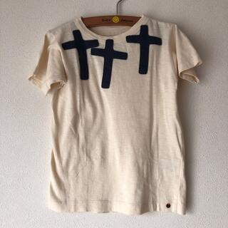 GO TO HOLLYWOOD - 美品ゴートゥーハリウッドフェルトワッペンTシャツ120