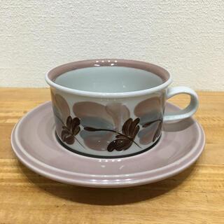 アラビア(ARABIA)の美品☆アラビア コラーリ ティーカップ&ソーサー(グラス/カップ)
