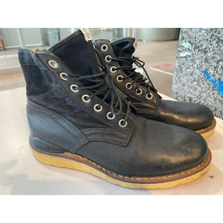 ヴィスヴィム(VISVIM)の10aw visvim 7HOLE '73-FOLK BLACK/BLACK(ブーツ)