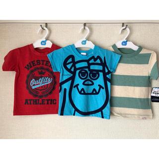 ニシマツヤ(西松屋)のTシャツ 80  3点 男の子(Tシャツ)