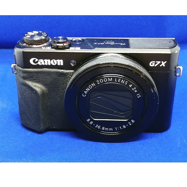 Canon(キヤノン)のCanon powershot G7XMarkⅡ  中古品 スマホ/家電/カメラのカメラ(コンパクトデジタルカメラ)の商品写真