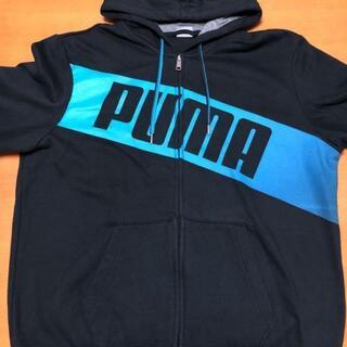 プーマ(PUMA)のプーマ スウェット パーカー フーディー デカロゴ ビッグシルエット XL(パーカー)