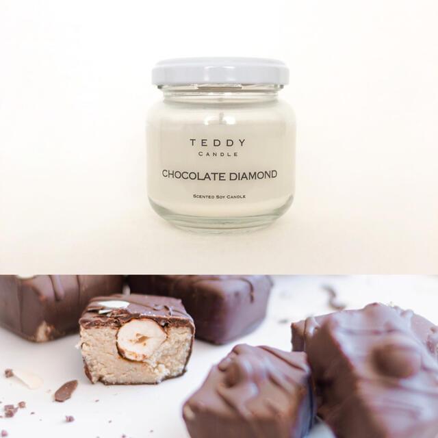 Bath & Body Works(バスアンドボディーワークス)のあまーいチョコレートの香り★新品ソイアロマキャンドル★父の日 コスメ/美容のリラクゼーション(キャンドル)の商品写真