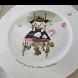 ニッコー(NIKKO)の永田萌の壁飾りの皿(置物)