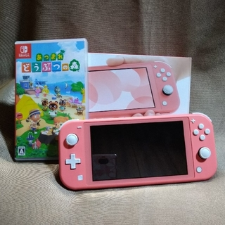 Nintendo Switch lite コーラル +どうぶつの森セット