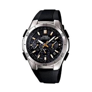 カシオ(CASIO)のCASIO 電波ソーラー クロノグラフ 新品 未使用 プライスタグ付 正規品(腕時計(アナログ))