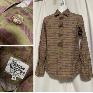 ヴィヴィアンウエストウッド(Vivienne Westwood)のVivienne Westwood MAN 刺繍オーブ ネクタイシャツ 44 S(シャツ)
