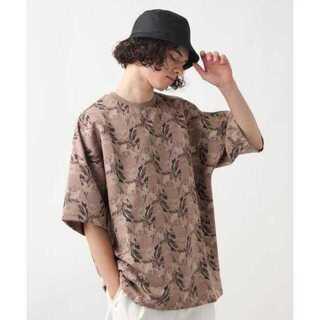 ハレ(HARE)のジャガードフラワーカットソー2(HARE)(Tシャツ/カットソー(七分/長袖))