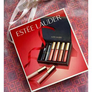 エスティローダー(Estee Lauder)のエスティローダー リップグロス 6本セット(リップグロス)