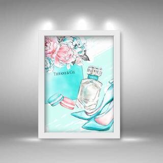 0810 オマージュ パロディ インテリア アート ポスター(アート/写真)