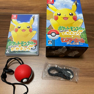 Nintendo Switch - Let's Go ピカチュウ モンスターボールplusセット