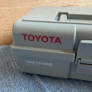トヨタ(トヨタ)のトヨタ純正 スチールチェーン 未使用品(タイヤ)