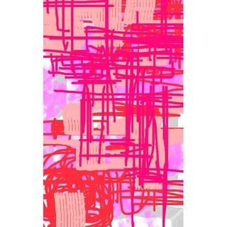 CG抽象画1222 テレワーク スマホ 抽象画(アート/写真)