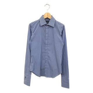 ラルフローレン(Ralph Lauren)の美品 ラルフローレン 長袖シャツ ストライプ柄 メンズ 6(シャツ)