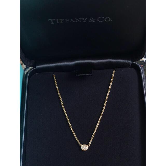 Tiffany & Co.(ティファニー)の✴︎☆Tiffany バイザヤード YG 0.14ct☆✴︎ レディースのアクセサリー(ネックレス)の商品写真