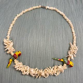 アッシュペーフランス(H.P.FRANCE)のヴィンテージ 鳥モチーフのネックレス(ネックレス)