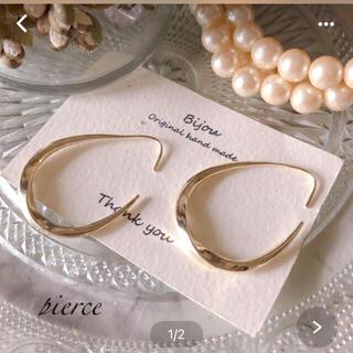 ZARA - *人気* gold loop pierce