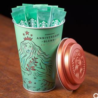 Starbucks Coffee - スターバックス VIA ヴィア アニバーサリーブレンド15本入り 缶付き スタバ