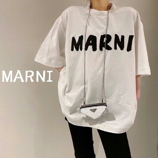 Marni - 入手困難 MARNI マルニ ロゴ Tシャツ