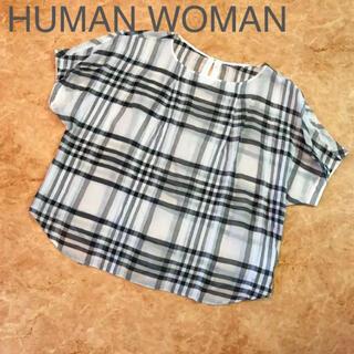 HUMAN WOMAN - HUMAN WOMAN トップス ブラウス
