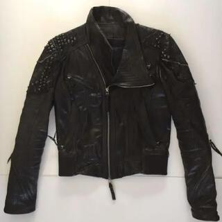 ルグランブルー(LGB)のKmrii leather ライダースジャケット(ライダースジャケット)