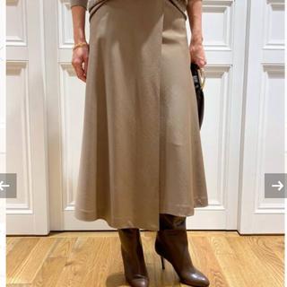 ドゥーズィエムクラス(DEUXIEME CLASSE)のFlared スカート38(ロングスカート)