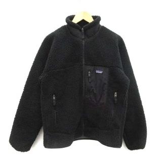 パタゴニア(patagonia)のパタゴニア レトロXジャケット フリースジャケット ボア ブルゾン M 黒(ブルゾン)
