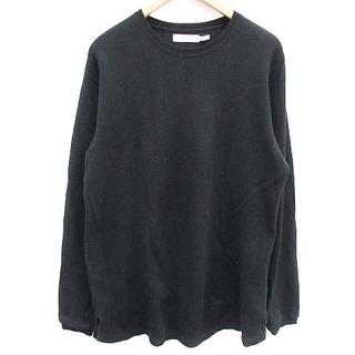 ノンネイティブ(nonnative)のノンネイティブ サーマルロングスリーブTシャツ 長袖 ワッフル 2 黒 ブラック(Tシャツ/カットソー(七分/長袖))