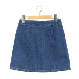 ロンハーマン(Ron Herman)のロンハーマン Ron Herman デニムスカート 台形スカート ミニ XS 青(その他)