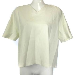 エンフォルド(ENFOLD)のエンフォルド ENFOLD カットソー 半袖 Vネック 38 M 白(カットソー(半袖/袖なし))