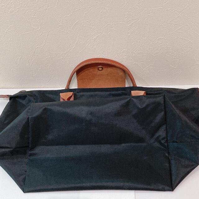 LONGCHAMP(ロンシャン)の人気 ロンシャン ルプリアージュ トートバッグ ブラック LONGCHAMP 黒 レディースのバッグ(トートバッグ)の商品写真