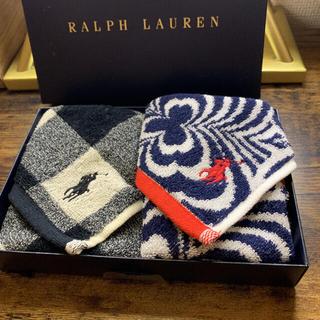 ラルフローレン(Ralph Lauren)のラルフローレン ミニタオル ハンカチタオル 2枚(タオル/バス用品)