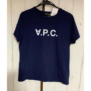 A.P.C - A.P.C Tシャツ ネイビー L