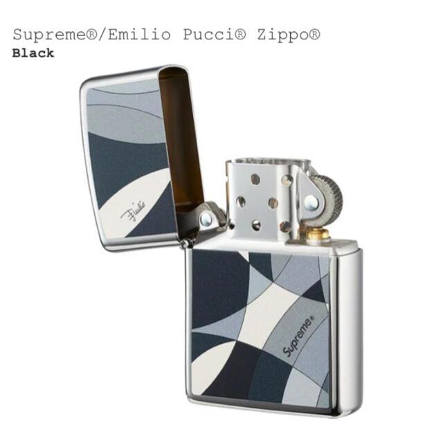 Supreme(シュプリーム)のSupreme Emilio Pucci Zippo BLACK メンズのファッション小物(その他)の商品写真