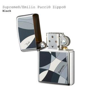 Supreme - Supreme Emilio Pucci Zippo BLACK