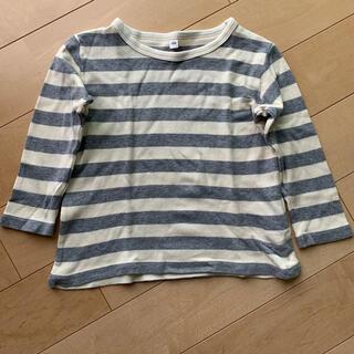 ムジルシリョウヒン(MUJI (無印良品))の長袖Tシャツ 無印良品 100cm(Tシャツ/カットソー)