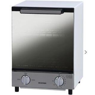 アイリスオーヤマ - オーブントースター アイリスオーヤマ ミラーオーブントースター  縦型
