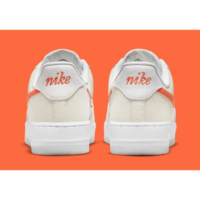 NIKE(ナイキ)の各サイズあり❤️2021年限定‼️ナイキ エアフォース1❤️白 オレンジホワイト レディースの靴/シューズ(スニーカー)の商品写真