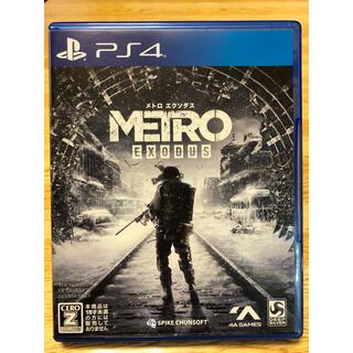 PlayStation4 - メトロエクソダス PS4