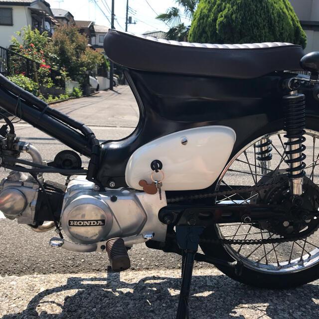 ホンダ(ホンダ)の$$$様専用 スーパーカブ カスタム リペイント 自動車/バイクのバイク(車体)の商品写真